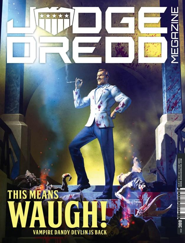Judge Dredd Megazine 388-1