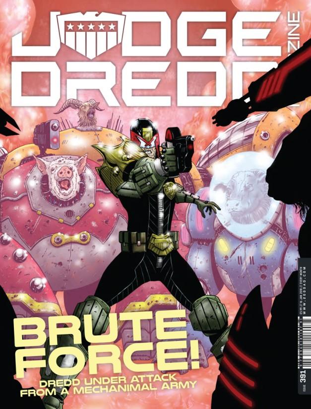 Judge Dredd Megazine 391-1