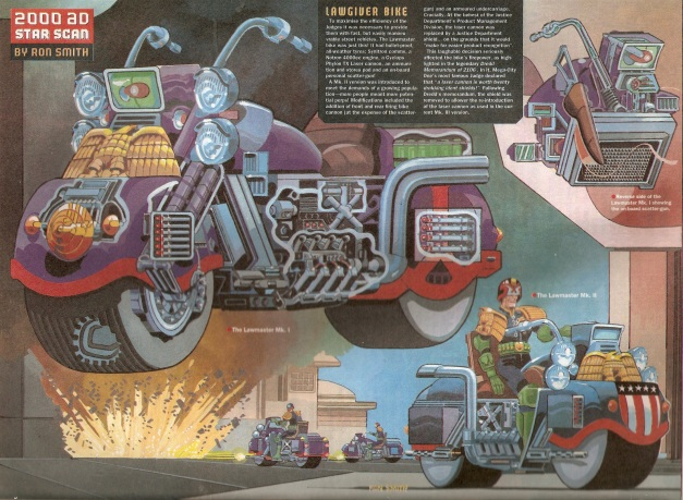 Ron Smith Judge Dredd Star Scan 1