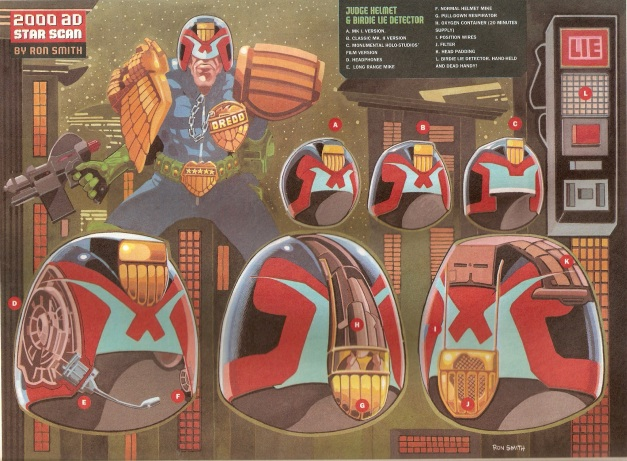Ron Smith Judge Dredd Star Scan 2