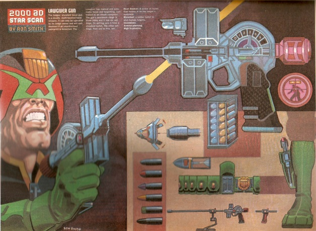Ron Smith Judge Dredd Star Scan 3