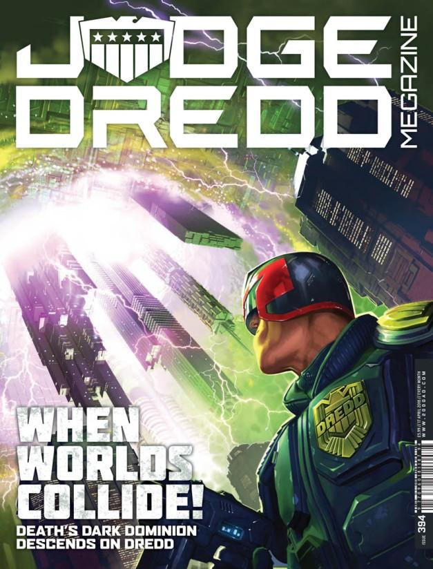 Judge Dredd Megazine 394-1