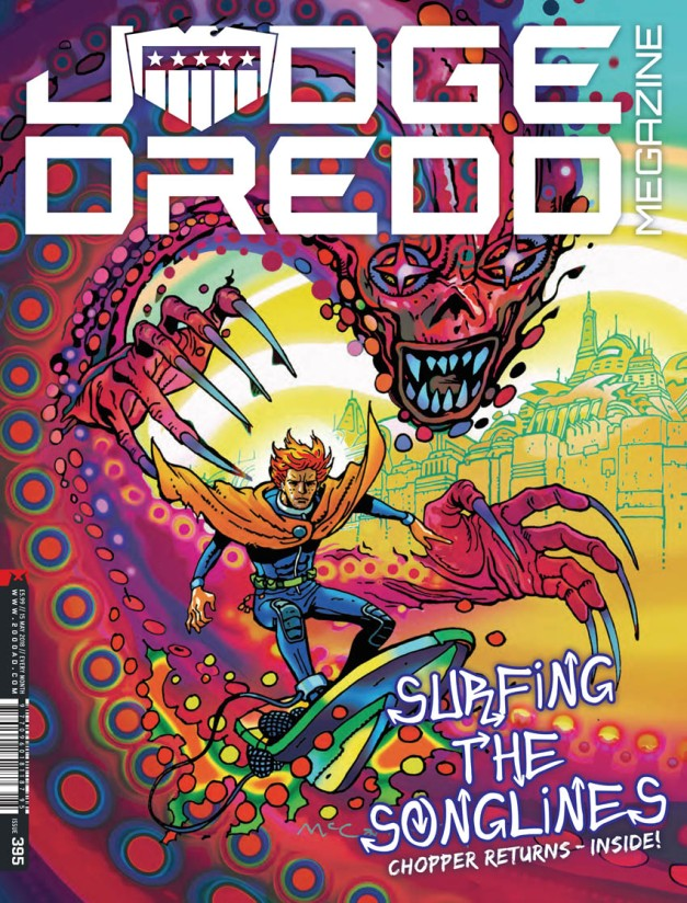 Judge Dredd Megazine 395-1