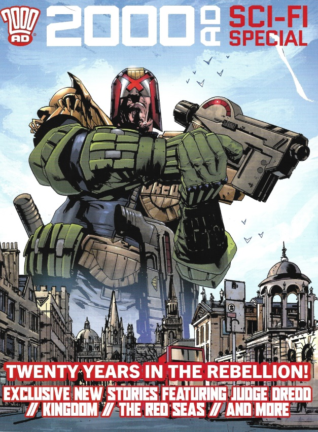 2000AD Sci fi special cover 2020