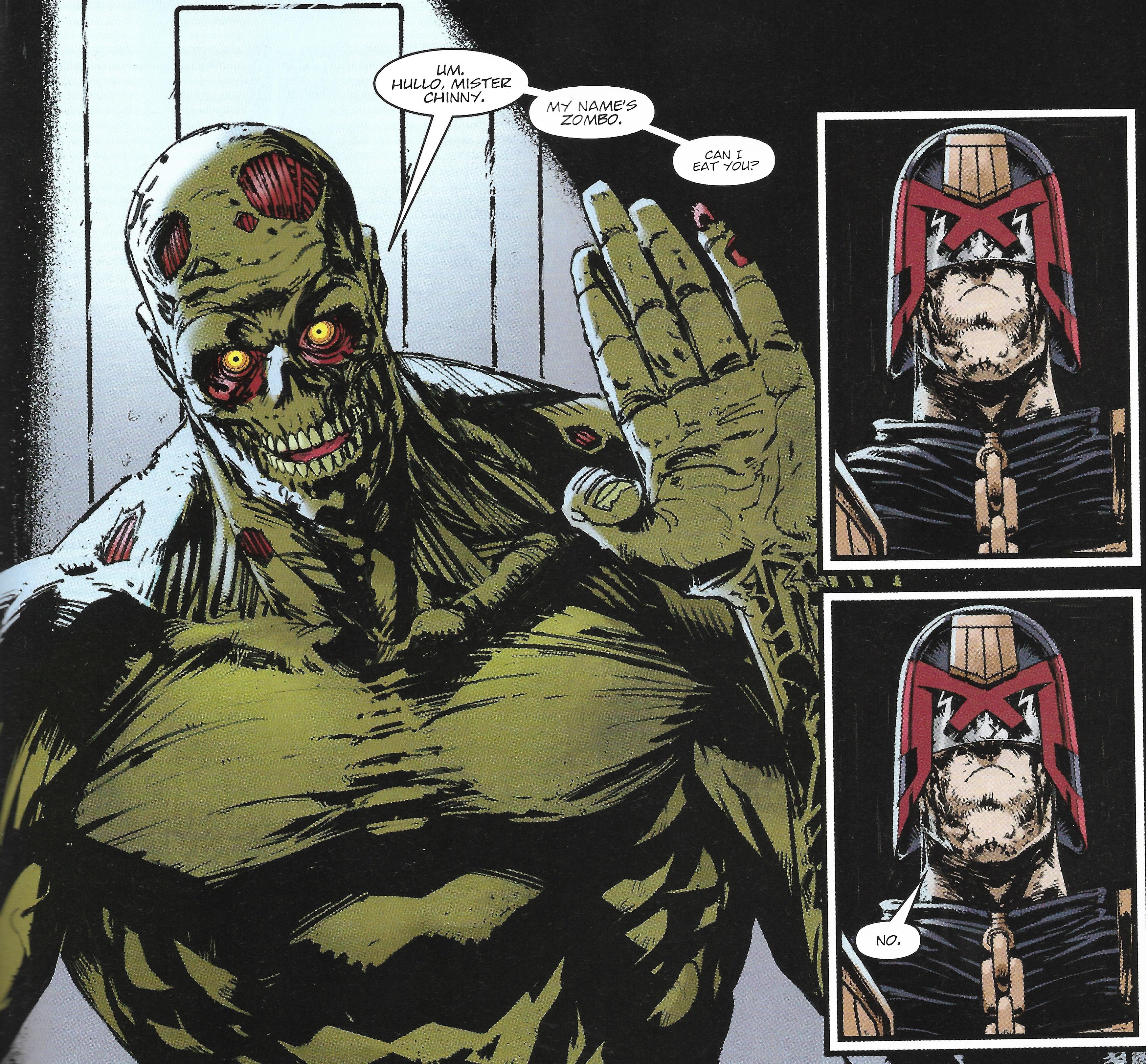 Zombo Dredd