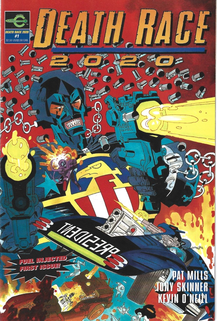 Death race 2020 Cover 1